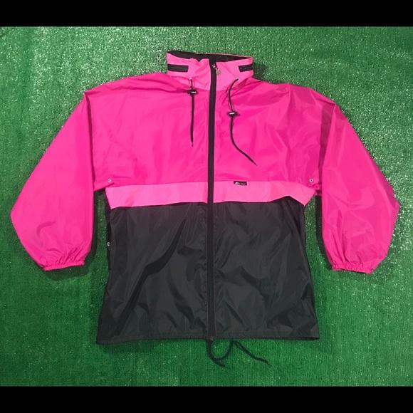 bb3f1a5f8 Vintage Jackets & Coats | 90s Kway Colorblock Festival Rain Jacket ...